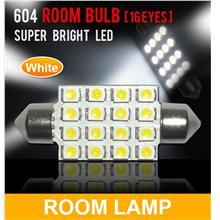 SUPER WHITE 16 LED Room Lamp/ Boot Lamp Universal Fitting [604]