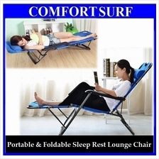 Portable & Foldable Adjustable Sleep Nap Seat Rest Lounge Chair