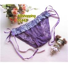 01447strap sexy lace flounced T pants
