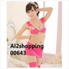 00643New Rose Pierced Dew Point five pieces Sexy bikini