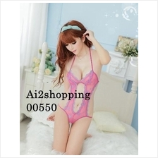 00550The new bandage Halter Sexy Pajamas Coverall