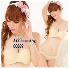 00889ladies Body  gather adjustable underwear Bra suit