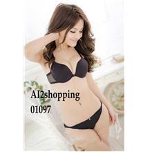 01097Korea anterior cingulate back fine T-strap underwear Bra suit