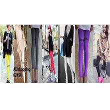 02454Korea Japan Pants Panties Trouser Pants & Shorts Leggings