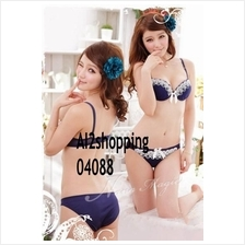 04088Korean exquisite lace sexy underwear Bra suit