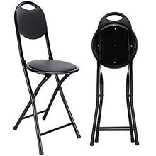 Leather fold chair, foldable chair, outdoor chair with soft seat