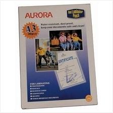 Aurora, Laminator Pouch A3 /30pcs [USA Brand]