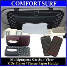 FREE GIFT + Car Sun Visor CD Player Tissue Paper Box Holder