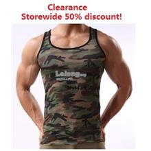 Men Ice Silk Army Camouflage Top S,M,L