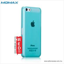 iPhone 5C Case Momax Transparent TPU hard case - Light Blue