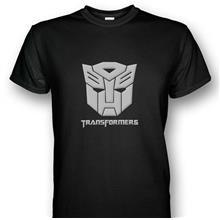 Transformers Autobot Emblem T-shirt Silver