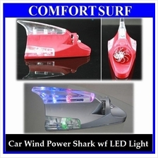 Cool & Special Car Decorative Wind Power Shark LED Light