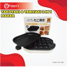 Takoyaki & Teriyaki 2 in 1 Maker