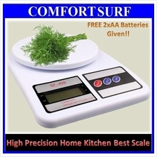 Electronic Digital Kitchen Weight Scale 5/7/10KG x 1g + FREE Battery