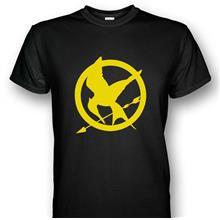 The Hunger Games Mockingjays T-shirt Yellow Print