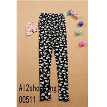 Korean Kawaii Mickey Mouse was thin leggings 00511