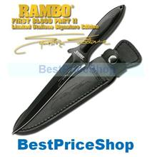 Rambo Boot Knife 5 - First Blood II - Gold Signature Edition V