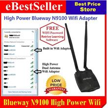 150Mbps BlueWay N9100 High Power USB Wifi Adapter Vs Alfa + Free CD