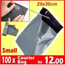 [100pc-SMALL] Courier Plastic Bag Post Flyer Poslaju Flyer