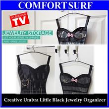 Stylish Design Umbra Little Black Corset Jewelry Belt Organizer