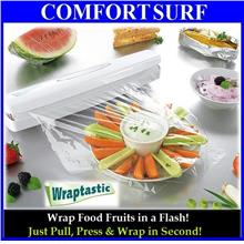 Wraptastic Dispenser Wrap Food Fruits Vegetable in Second!