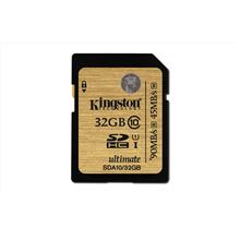 Kingston 32GB SDHC Class 10 UHS-I Ultimate Memory Card 90MB/s SDA10/32