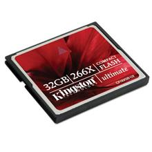 Kingston 32gb CF Compact Flash Ultimate Memory Card 266X CF/32GB-U2