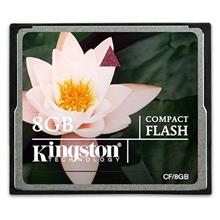 Kingston 8gb CF Compact Flash DSLR Memory Card 33x CF/8GB