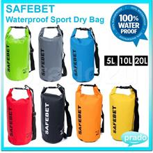 High Quality SAFEBET Waterproof Sport Dry Bag Belt wt Shoulder Strap