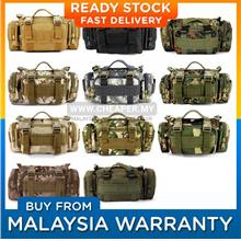 Military Shoulder Waist Pouch Sling Bag Army Cycling Hiking Bag)