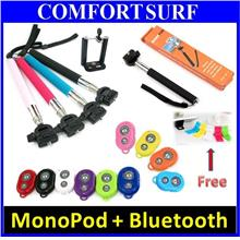 FREE GIFT + Extra Long Pocket Selfie Monopod Bluetooth Shutter Camera