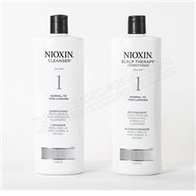 1000ml 2 in 1 Nioxin System 1 Shampoo & Conditioner Hair Fall Control
