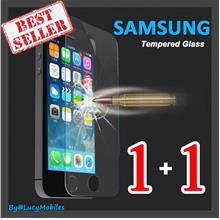 Samsung S7 S4 S5 Note 2 3 4 5 A5 A7 A8 9 5s 6 7 Tempered Glass 1+1FREE