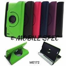 Asus Memo Pad ME172 360 Degree Rotating Leather Cover Pouch Case