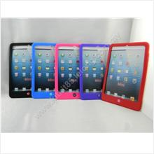Apple iPad Mini Home Button Silicone Soft Case Protect Phone