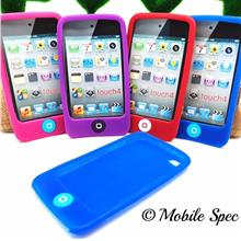 Apple iPod Touch 4 Home Button Silicone Soft Case Casing Protect Phone