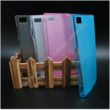 XiaoMi Mi3 M3 Pudding Transparent TPU Soft Tinted Case