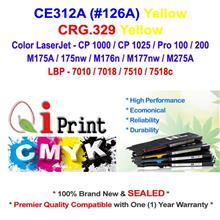 HP CE312A 126A CP1025 M175 YELLOW Toner Compatible * NEW Sealed *