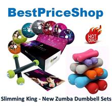 New Zumba Exhilarate Dumbbells 7 DVD Body Shape FREE Skipping Rope
