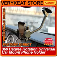 READY STOCK ! 360 Degree Rotation Universal Car Mount Phone Holder