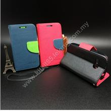 Lenovo A316 Mercury Fancy Diary Case Casing Pouch