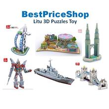 Litu Fun 3D Puzzle Learning Toy Playing Gift Set Adult Pass Time