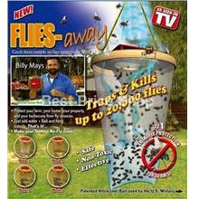 3 Sets of New Flies Away - Kill Up to 60,000 flies for 90days usage