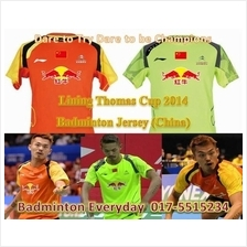 Lining Thomas Cup 2014 Badminton Jersey Shirt (China) baju badminton