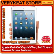 Apple iPad Mini Crystal Clear, Anti Scratch, Frosted Screen Protector
