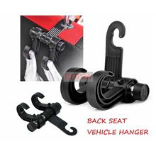 Car Hanger with 2 hooks / Backseat Hanger / Vehicle Hanger