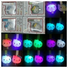 Hello Kitty LED light USB Cable change color