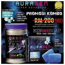 Aura Men + Aura Men Face Soap Combo *Free Shipping