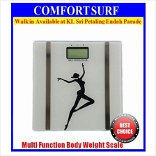 FREE GIFT+ Multi Functions Body FAT BMI Digital Body Weight Scale