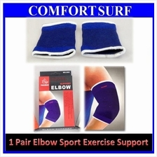 1 Pair TELAISI Elbow Support for Sport Gym Exercise Wear Tennis Golf